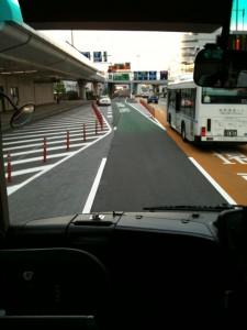 羽田空港からは、リムジンバスで帰りました