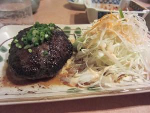 「金城」のハンバーグが最高に美味い