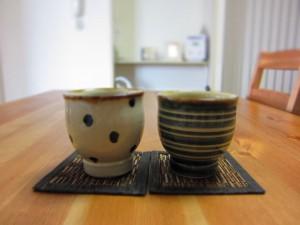 湯のみ茶碗を一組買いました
