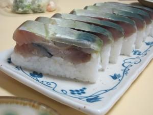 福井「萩」の生さば寿司