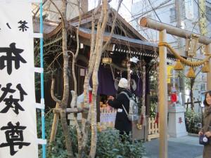 茶ノ木神社(布袋尊)