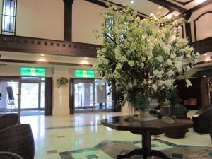 ホテルグリーンプラザ箱根のロビー