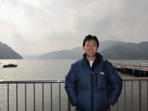 芦ノ湖周辺を回ります