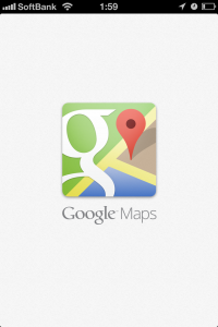 iOS6版「Google Maps」