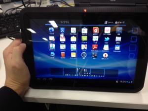 ARROWS Tab LTE F-01D