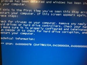 パソコンもトラブルがよく発生します